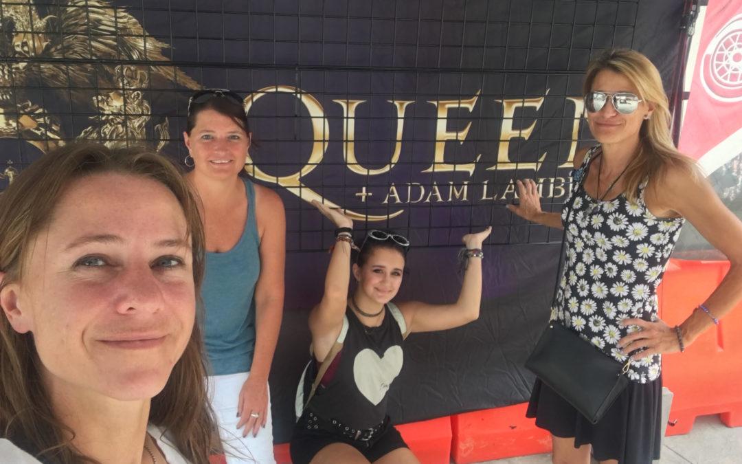 Tillys and Queen Rock Detroit